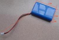 1600 mah big 3.7 V lithium electric battery MP4 / MP3 decoding plate battery/card speakers lithium electricity DIY suite