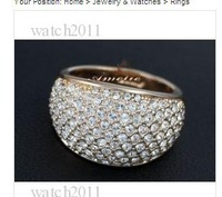 Personality ring, fashion ring, Lady's simulated diamond ring