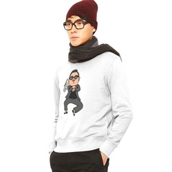 2013 New! Fashion Brand Style dance Clothes Psy Men's Long-Sleeve O-neck Sport Printed Hoodies Sweatshirts 4 Colors MT028(China (Mainland))