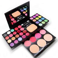 Make-up compact makeup palette 24 eye shadow plate 8 lipstick 4 blush 3 powder make up  maquiagem set