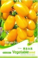 Free Shipping Yellow Melon sugar Tomato Seeds 5 packs per lot  / 20pcs per pack , vegetable seeds