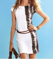 2013 new beach skirt, holiday skirt, (including belt) Sexy dress free shipping