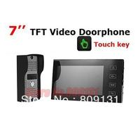7 Inch TFT Touch Screen Color Video Doorphone Cmos Night Version Camera Intercom system 11 Door Bell Rings