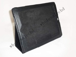 100pcs/lot High Quality photo Frame Leather Case with Stand folio Case for apple ipad 2 3,free shipping !(China (Mainland))