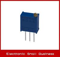 100pcs/1lot   3296W-1-504LF 3296W 500K Trimpot Trimmer Potentiometer    Free Shipping
