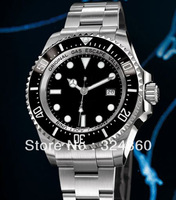 Luxury Men's Automatic Ceramic Bezel Watch Black PVD Waterproof Perpetual GMT Master II Men Dive Sport  WRISTWATCH