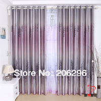 Free Shipping For Living-room & Balcony Ready-made Pleated Curtain Finished Curtain,Eyelet & Hooks 2 StylesFast Delivery