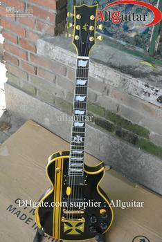 custom James Hetfield Iron Cross Aged Electric Guitar China Guitar