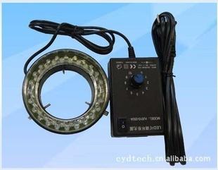 NEW 60 LED Microscope Ring Light Iluuminator ADJUSTABLE with adapter 110V-240V