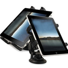 "Universal Cradle Bracket for IPAD 2 / 3 / 4 / MINI Clip Car Holder for 8"" - 14"" tablet pc windshield stand for GPS / DVD / MID"