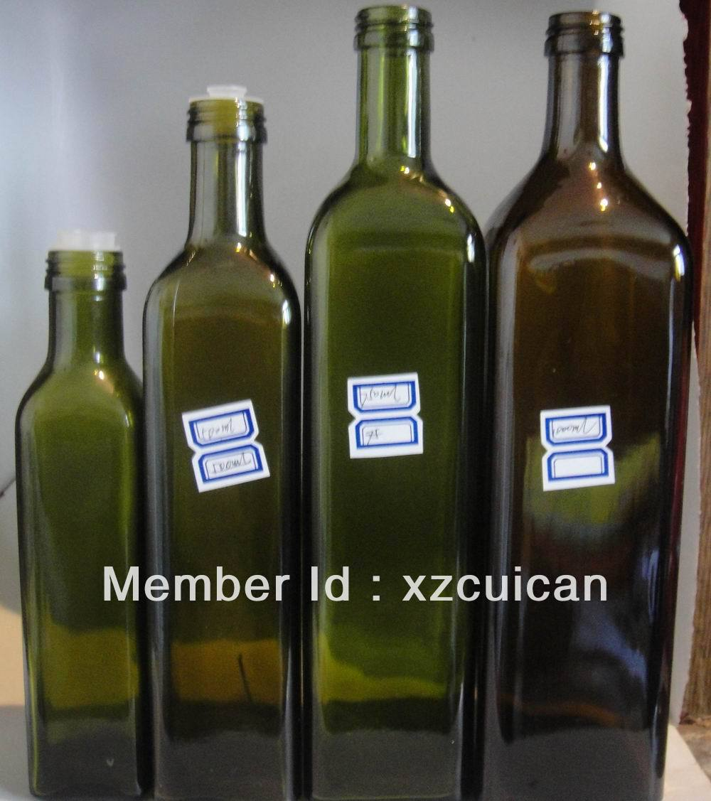 50ML to 1000ML olive oil glass bottle(China (Mainland))