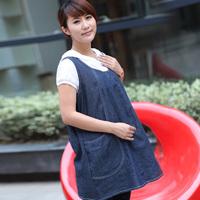Silver fiber radiation-resistant maternity clothing superacids denim unpick and wash 1109