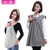 Maternity radiation-resistant maternity clothing silver fiber apron 1203-yw002
