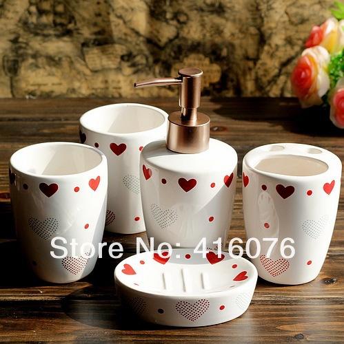 Set De Baño Ceramica: Set de baño de cerámica caja de regalo regalo especial de embalaje