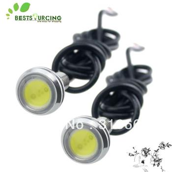 Wholesale Free Shipping 5pcs/lot 3W Eagle Eye LED Daytime Running Lights Bulbs12V