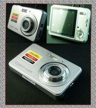 NEW 2.7″  digital camera digital zoom 4X ANTI SHAKE Black,Silver,Red Free shipping