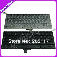 "Wholesale For Macbook Pro 13"" A1278 Keyboard Black UK Layout , 12 Months Warranty , Brand New"