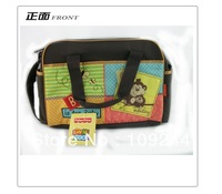 Fsher Price Fisher Mummy bag diaper bag love zoo style classic and adorable design Mummy package