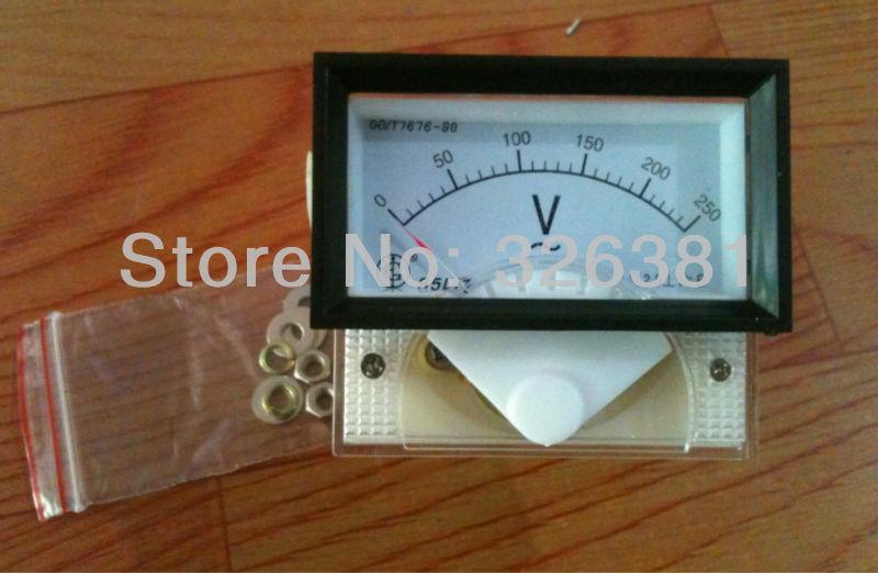 91L17 AC 0-250V Voltage Analog Panel Meter Mini Voltmeter/Voltage gauge(China (Mainland))