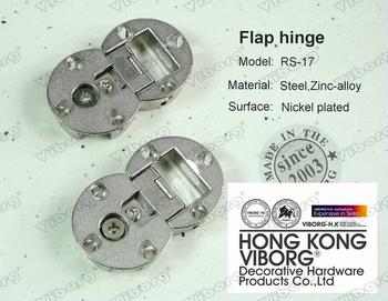 (1 pair) VIBORG Steel+Zinc Alloy Flap Hinge,EK-17