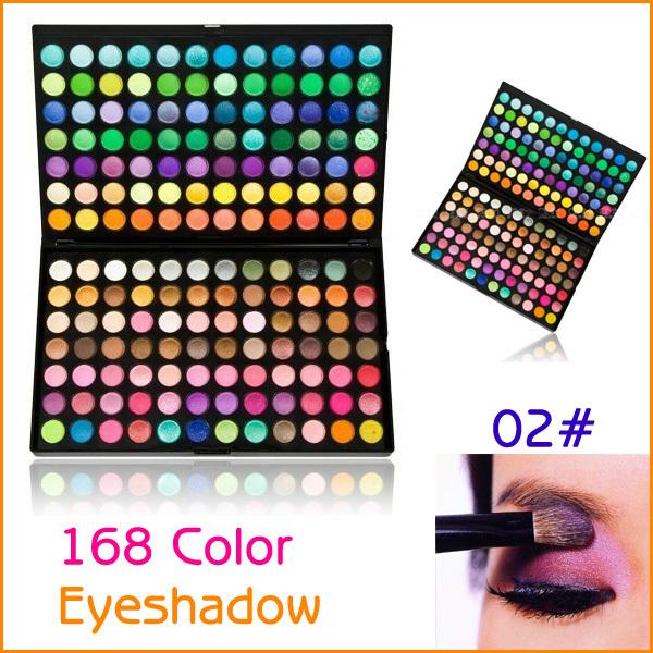 Professional 168 Full Colors Eye Shadow Eyeshadow Makeup Palette(China (Mainland))