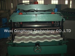 Glazed tile Roll forming machine(China (Mainland))