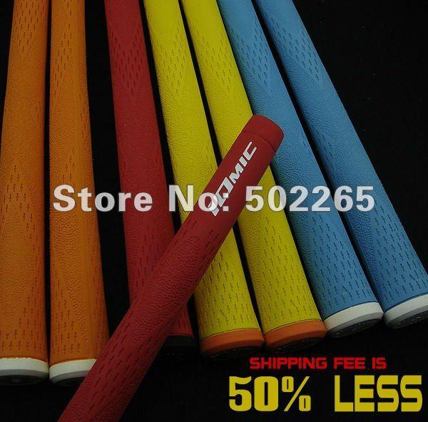 New Iomic X Golf Grip 20pc/lot light blue,white,black,yellow,orange