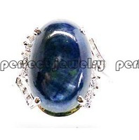 Sapphire ring Free shipping Perfect jewelry  natural and real sapphire ring  blue color  wholesales  size 10*14mm
