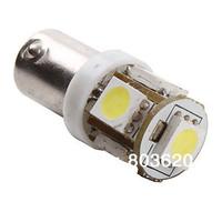 10 pieces a lot! BA9S 5SMD 12V DC Car LED Light 5050 5smd Interior Bulbs, Free shipping!