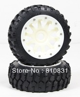 Freeshipping The new stytle front off-road tires kit for 23cc 26cc 29cc 305cc 5B bajas