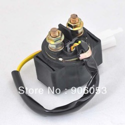 Motorcycle Starter Solenoid Relay For GY6-125 Round(China (Mainland))