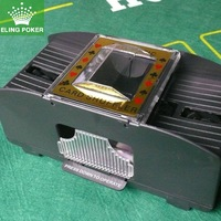 1 pc Texas poker shudderingly machine electric automatic shuffle machine plastic shuffling machine 2