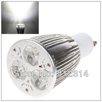 Wholesale - 50pcs/lot 2W Dimmable Spotlight LED Light - GU10 AC 85-260V 5000-6500K White Light