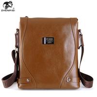 Leather man bag messenger bag commercial casual bag male shoulder bag leather bag bags