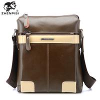 Leather male shoulder bag messenger bag men's bags casual fashion leather bag man bag