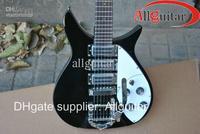 black bigsby 21 frets 527MM fretboard Electric guitar China Guitar