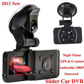2013 First Slide AT008 Car DVR 1080P 30FPS HD Camera GPS&G-Sensor Password(China (Mainland))