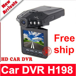"Free shipping IR Vehicle in-Car DVR Dash Cam Camera Road Video Recorder Night Vision 270 2.5""mini car dvr(China (Mainland))"