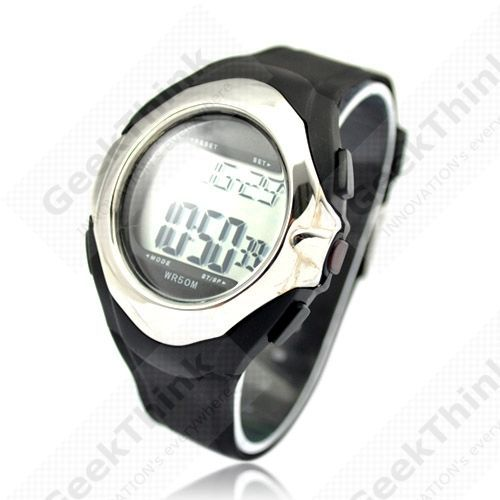 Strapless Healthy Sporty Heart Pulse Rate Monitor Calorie Counter Watch,WaterProof 50M,010(China (Mainland))