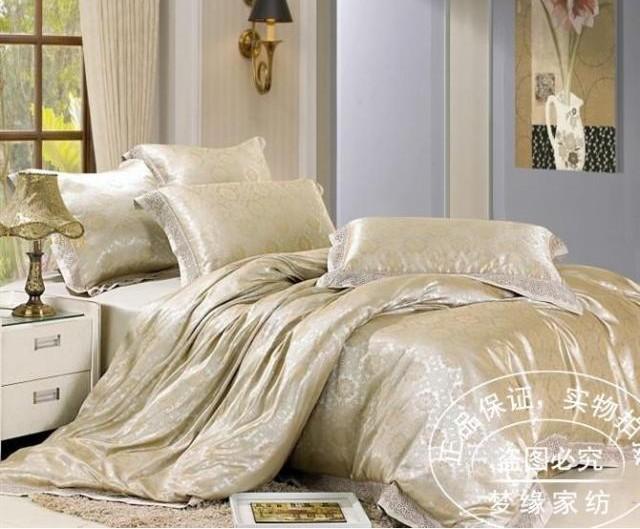 FRETE GRÁTIS 6pcs cobertura Jacquard Folha de cama / duvet set set / comforer / cama conjunto tampa / quilt(China (Mainland))