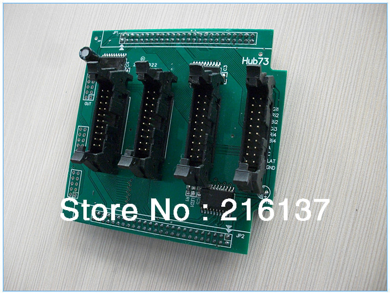 Free Shipping 5pcs of Full Color LED Display Conversion Card Hub73 Adapter for LED Modules for Controller Wholesale Best Price(China (Mainland))