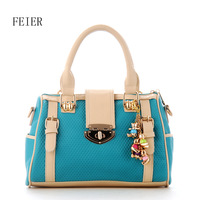 Free shipping new arrive cross-body women's bags fashion women Popular candy color handbag strap decoration tassel shoulder bag