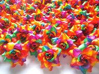 100   Roses Heads Artificial Silk Flower