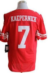 San Francisco 7 Colin Kaepernick Elite Red White Rugby Jerseys Mix Order Sewn 2013 Super Bowl XLVII Patches(China (Mainland))