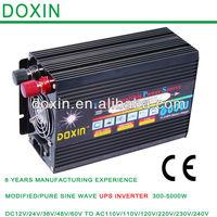 DOXIN UPS 600 Watt Power Inverter Car 24V DC to 120V AC withUSB port