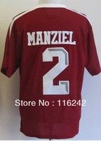 college football jersey Texas A&amp M Aggies Johnny Manziel 2 Football Authentic NCAA Jerseys free shipping accept mix order