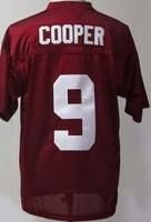 Alabama Crimson Tide Amari Cooper 9 Crimson College Football Jersey free shipping accept mix order