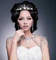Free shipping bridal shoulder chain necklace