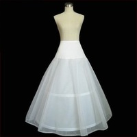 Free Shipping LYCRA-2-HOOP CRINOLINE wedding dress petticoat wholesale/retail