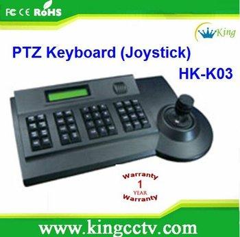 PTZ 3D Control Keyboard :HK-K03